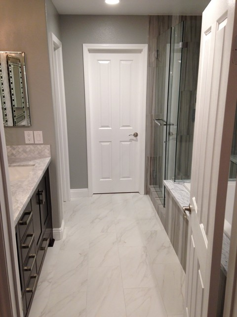 Irvine Master Modern Bathroom Orange County By Gaidano Renovations