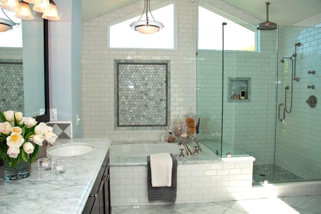 Irvine remodel 1 traditional bathroom orange county by kk design koncepts for Bathroom remodeling irvine ca