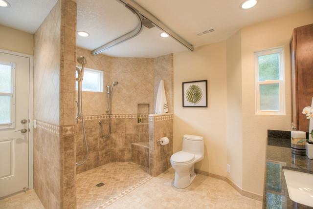 Irvine Special Needs Bathroom Addition Traditional Bathroom
