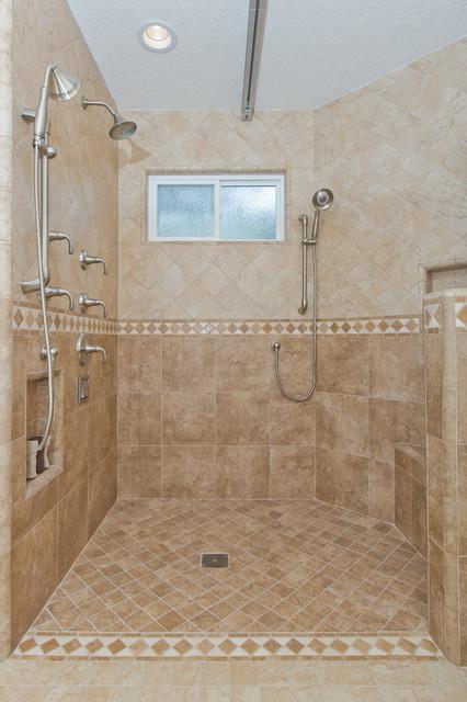 Irvine Special Needs Bathroom Addition Traditional