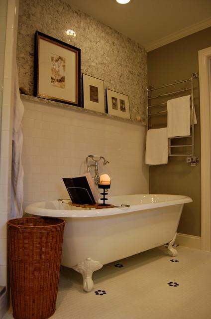 Irving Park Bathroom Remodel eclectic-bathroom