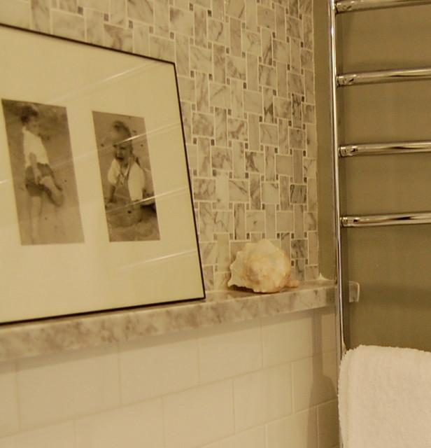 Irving Park Bathroom Remodel Eclectic Bathroom