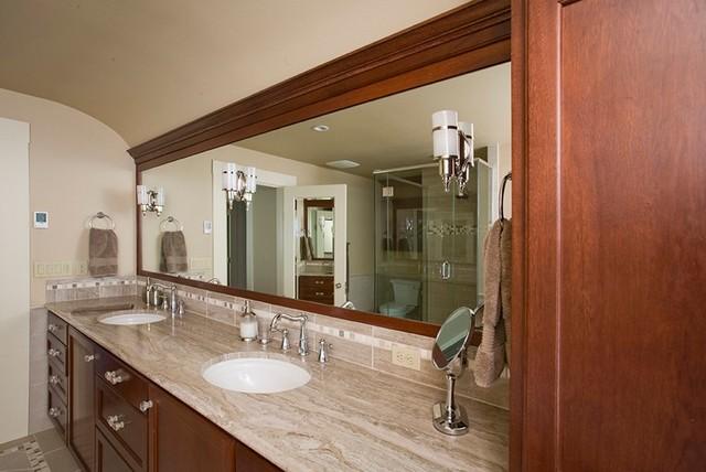 Irvington tudor traditional bathroom portland by for Tudor bathroom design