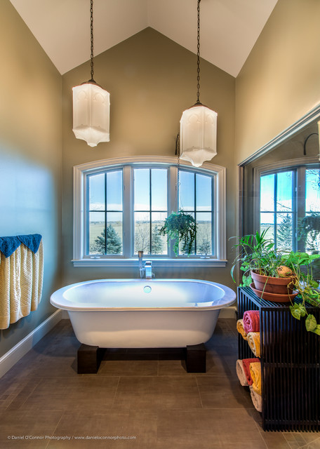 Isabelle Renovation / Custom Millwork, Lafayette, CO traditional-bathroom