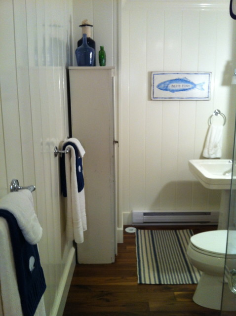 Island Home Cape Cod Beach Style Bathroom By Design Works