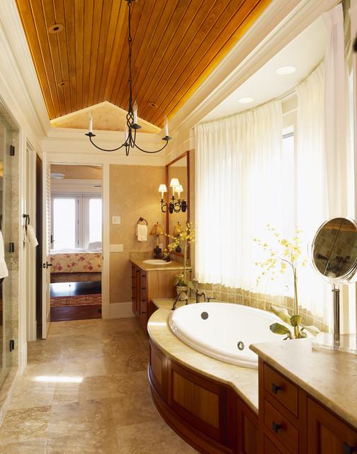 Island Home traditional-bathroom