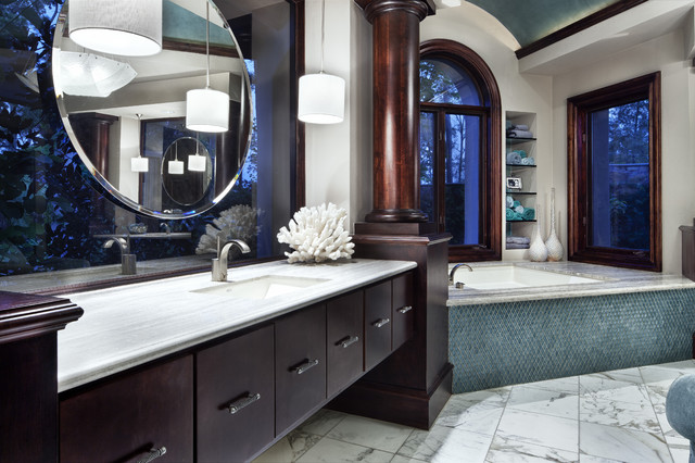 Italian Modern contemporary bathroom