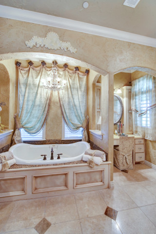 Italian Villa mediterranean-bathroom : italian villa decorating ideas - www.pureclipart.com