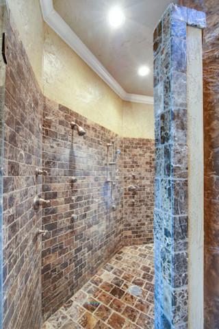Italian Villa mediterranean-bathroom