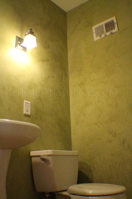 Italian Wall Finishes Traditional Bathroom Milwaukee