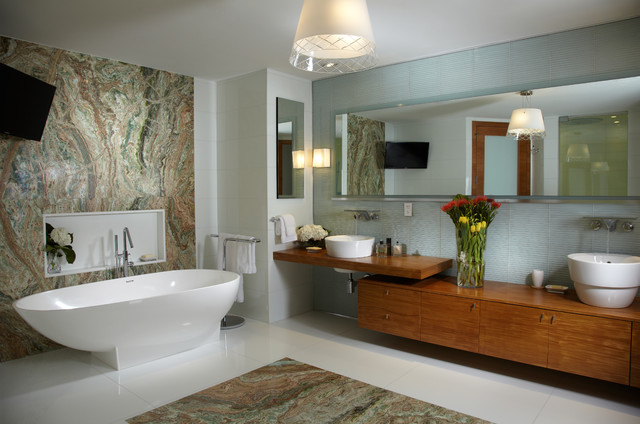 Modern Bathroom Interior Design j design group - interior designer miami - modern - contemporary
