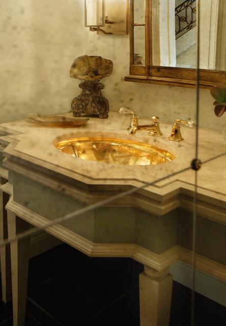 J. Hirsch Interior Design Portfolio traditional-bathroom