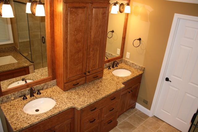 J.K.Best Custom-Built Cabinets - Bathroom - cincinnati - by J.K.Best Construction Incorporated