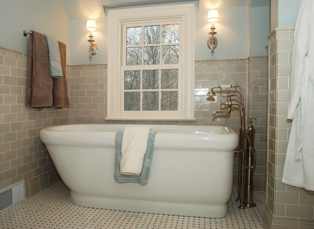 J Korsbon Designs traditional-bathroom