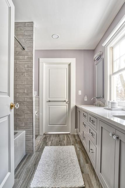 Jack & Jill Bathroom - Modern - Bathroom - New York - by ...