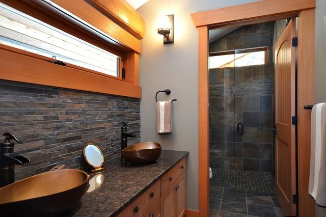 Jack and Jill Bathroom modern-bathroom