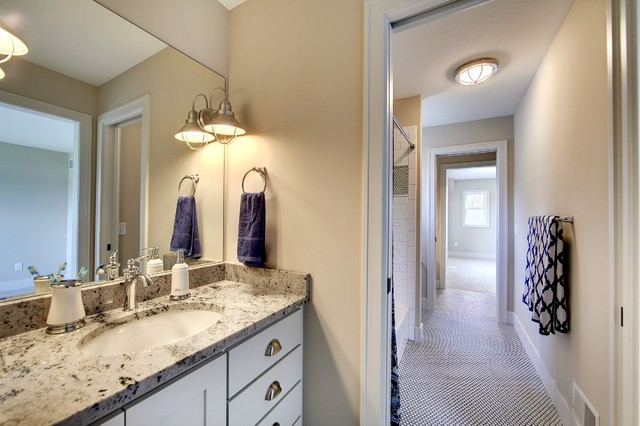 Jack and jill bathroom taylor creek english inspired - What is a jack and jill bath ...