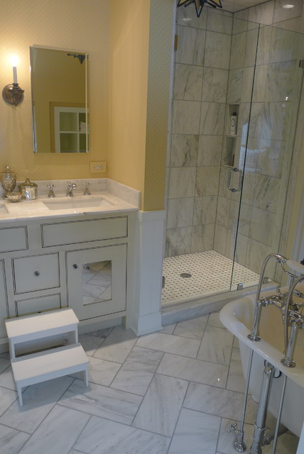 Jack n jill bathroom traditional bathroom for Jack n jill bathroom designs