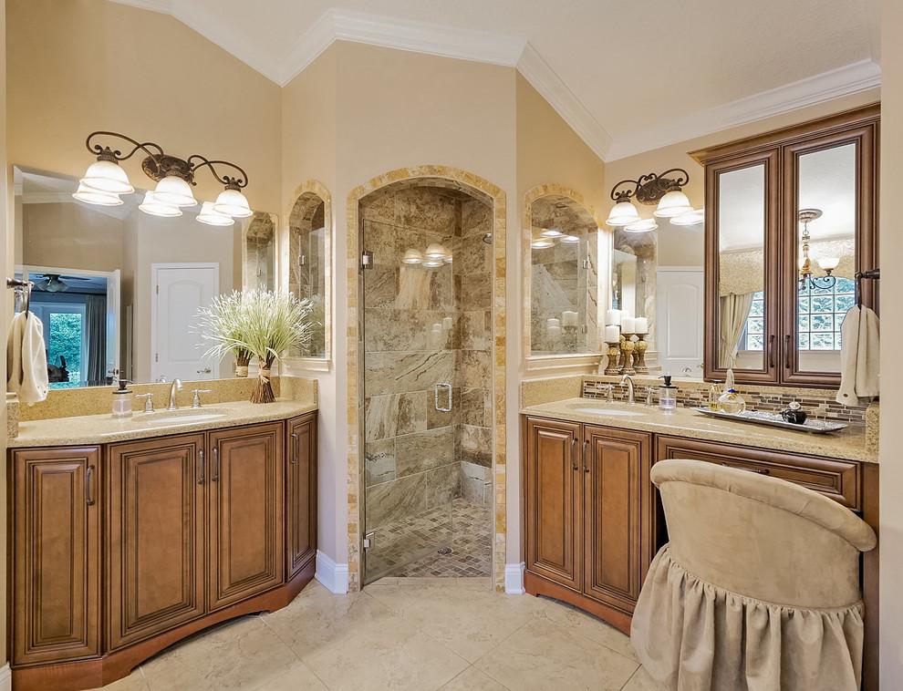 Jacksonville, FL Tuscan Kitchen and Master Bath Remodel ...
