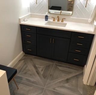 Jacksonville Guest Bathroom Remodel - Transitional ...