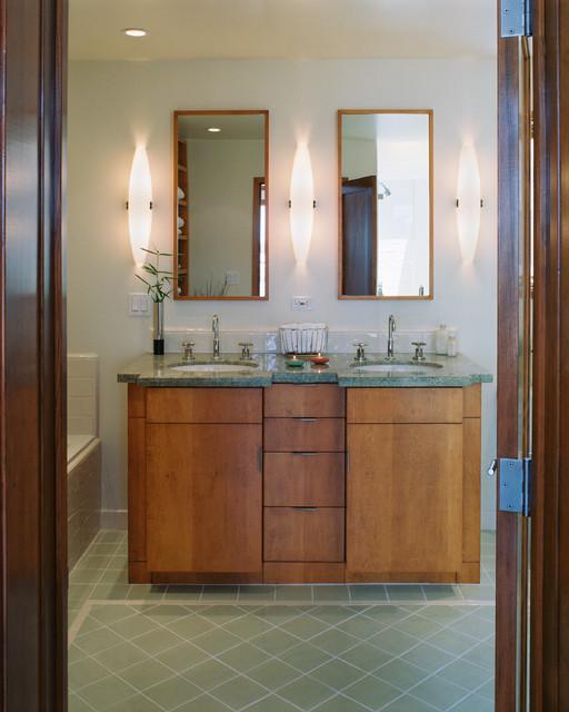 Jacobson Residence I contemporary-bathroom