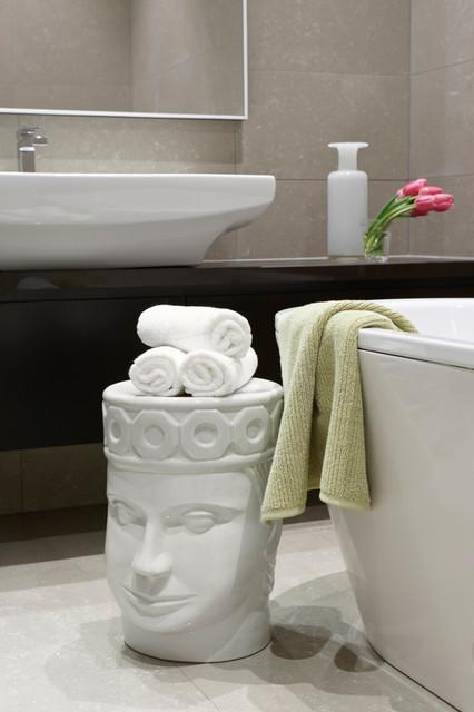 Jado decor christine tsingelidis wallace grove contemporary bathroom melbourne by jado - Bathroom accessories melbourne ...