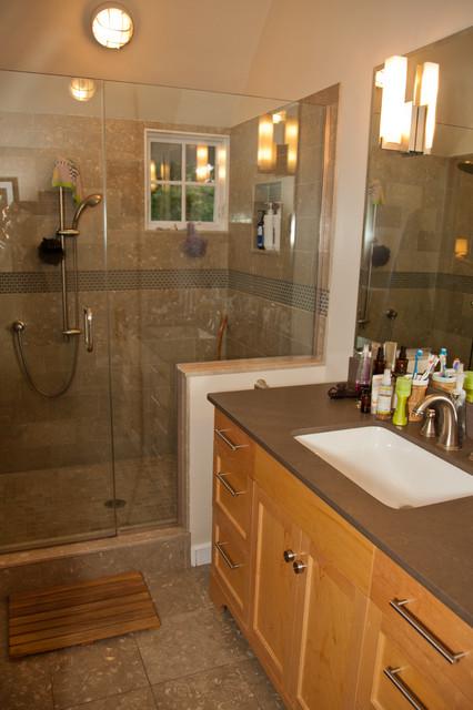 jamaica plain addition garage master suite traditional bathroom - Bathroom Designs Jamaica