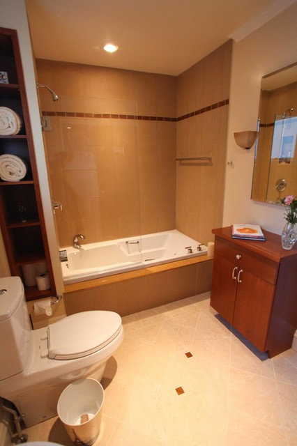 ... Bathrooms, Butler's Pantry and Laundry Room traditional-bathroom