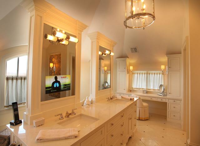 James m residence traditional bathroom philadelphia for Home automation shower