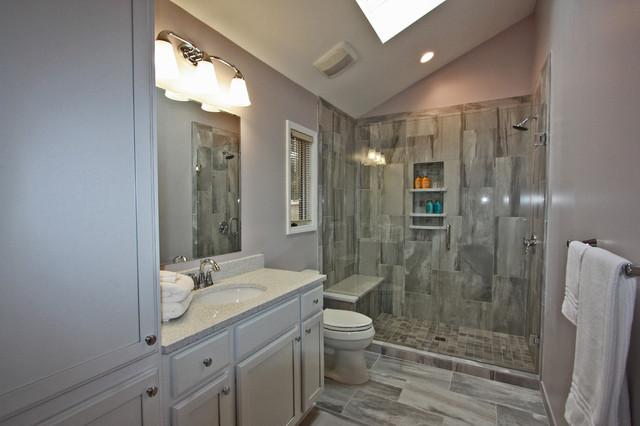 Jamestown bathroom remodel contemporary bathroom for Bath remodel raleigh