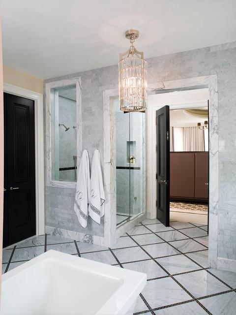Jamie Herzlinger modern-bathroom
