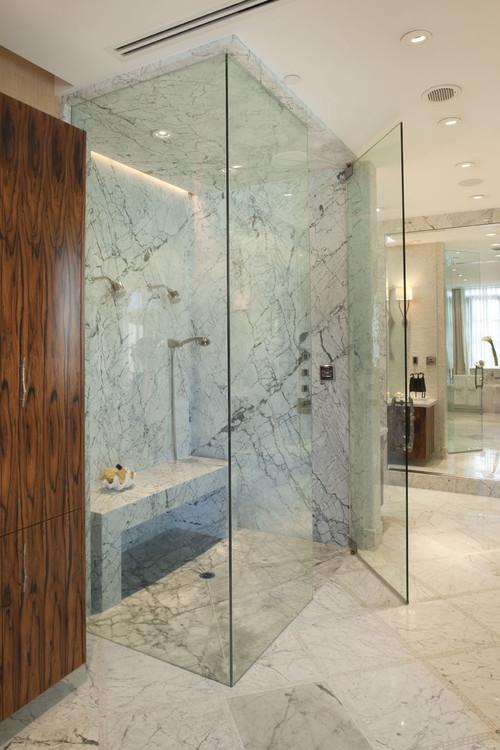Jamie Herzlinger modern bathroom