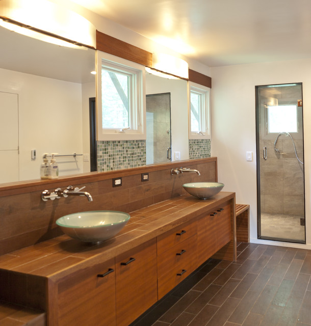 Japanese bath asian bathroom boston by light house for Small japanese bathroom design