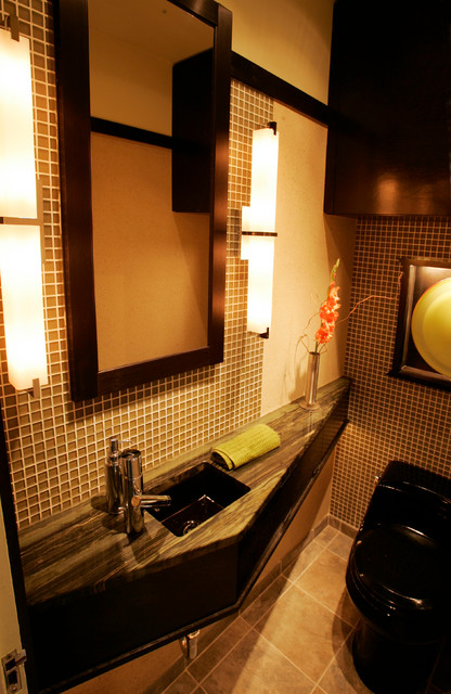 Japanese bathroom asian bathroom chicago by a for Japanese shower room