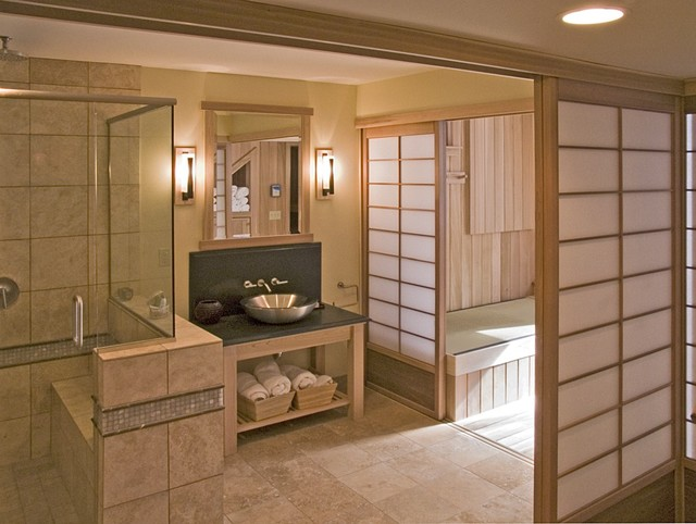 Japanese bathroom asian bathroom minneapolis by for Bathroom designs japanese style