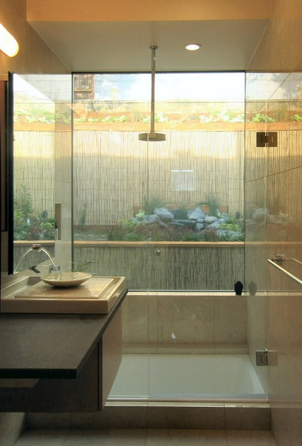 Japanese Inspired Remodel in Noe Valley-Bathroom asian bathroom