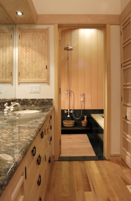 Japanese Style Master Bathroom Asian Bathroom San Francisco By Ki Arts