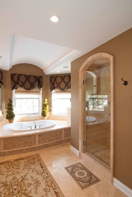 JBL Master suite and family room remodel traditional-bathroom