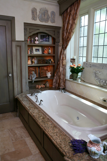 Jenny Rausch, C.K.D - Traditional - Bathroom - st louis - by Karr Bick Kitchen and Bath