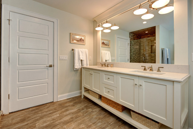 Jersey shore transitional bath in manasquan nj transitional bathroom