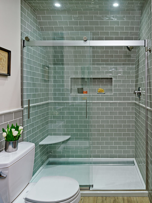 love the grey subway tile what brand and color is it thanks - Bathroom Gray Subway Tile