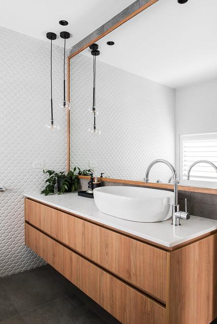 Jinglers New Build contemporary-bathroom