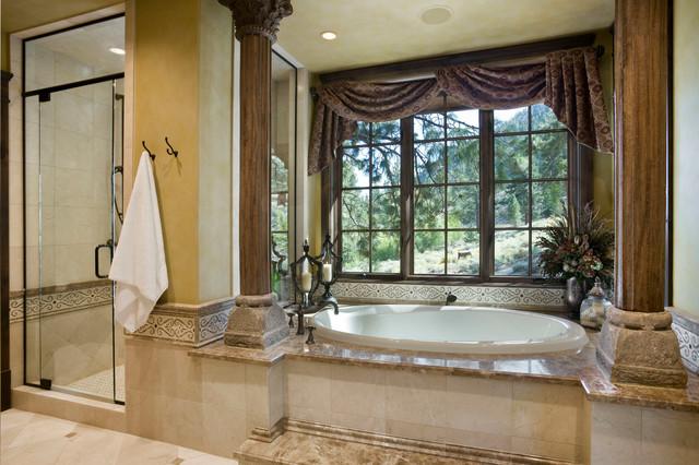 Job S Peak Ranch Residence Rustic Bathroom