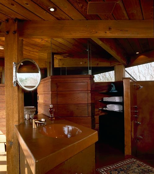 John Lautner Remodel - Modern - Bathroom - los angeles ...