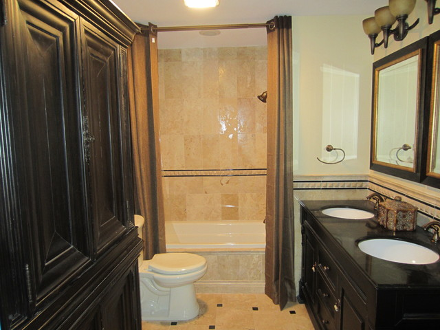 Johnny Bath expansion project traditional-bathroom