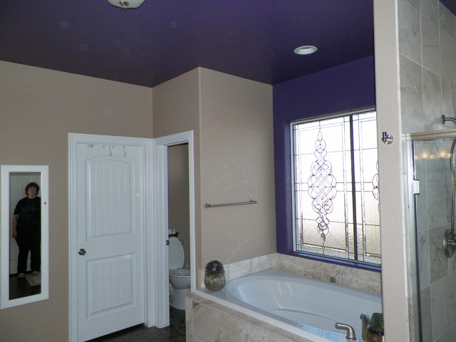 Johnstown - Ceilings.  Their own space. contemporary-bathroom