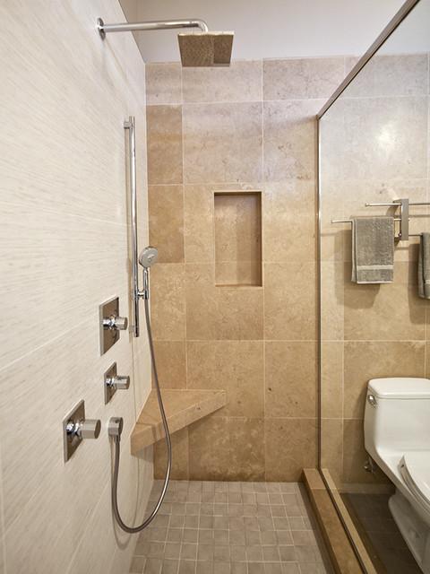 Jones House modern-bathroom