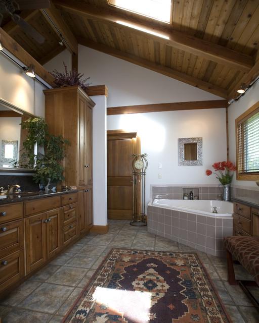 Jonesboro area Custom Home traditional-bathroom