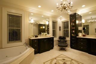 Joni Spear Interior Design Traditional Bathroom St Louis By Joni Spear Interior Design