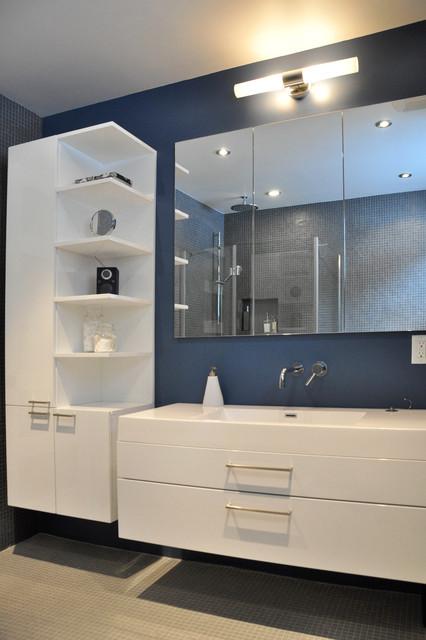Joyce :: bathroom - Modern - Bathroom - Montreal - by Bipède